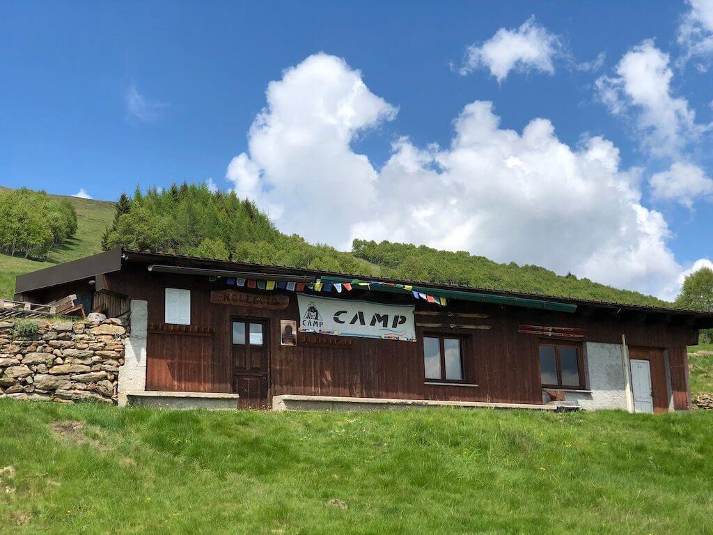 Лагерь в горах