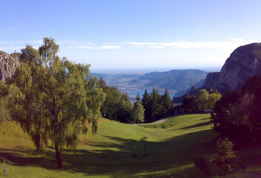 Пейзаж долина Вальсассины