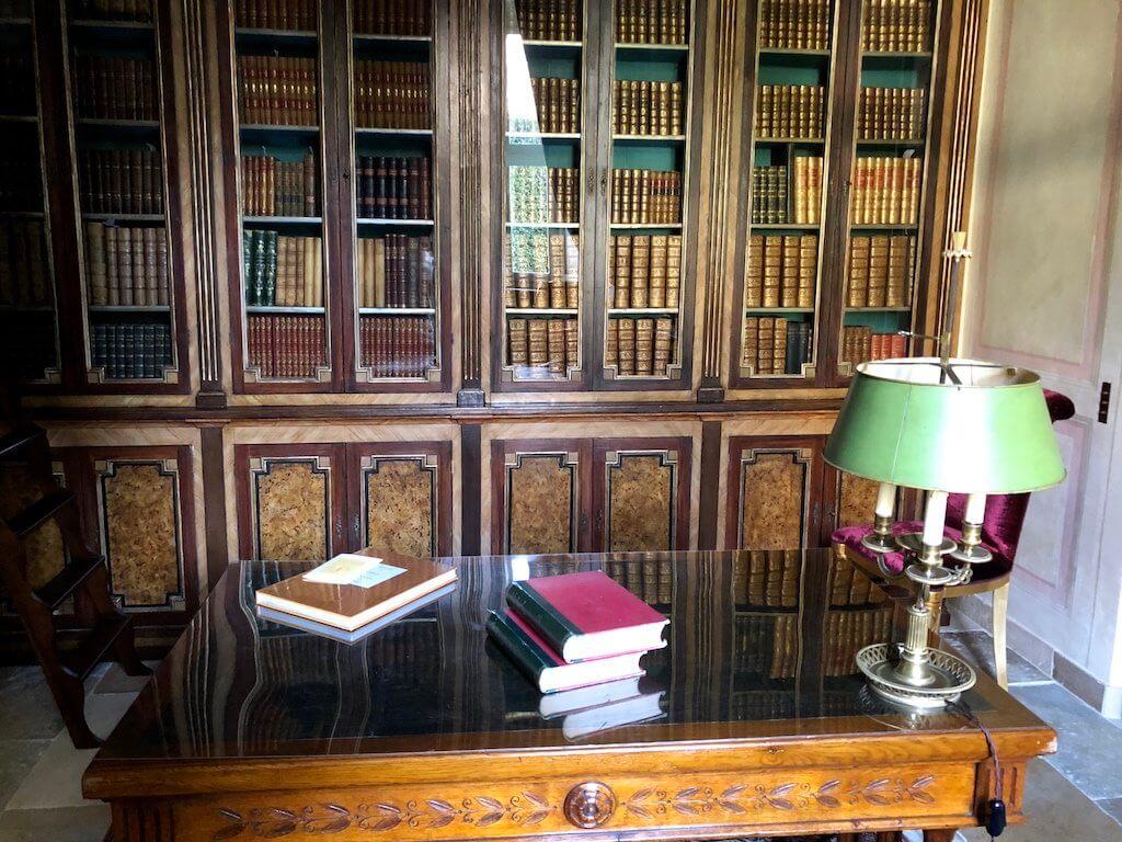 Вилла Бальбиано библиотека