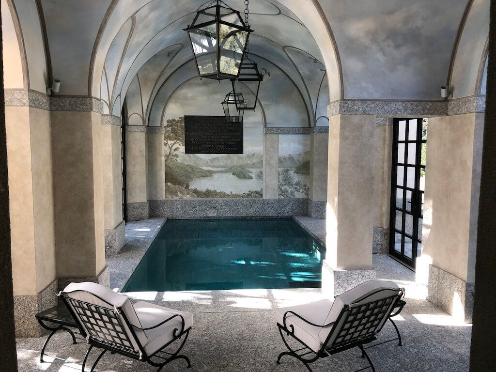 Вилла Бальбиано бассейн