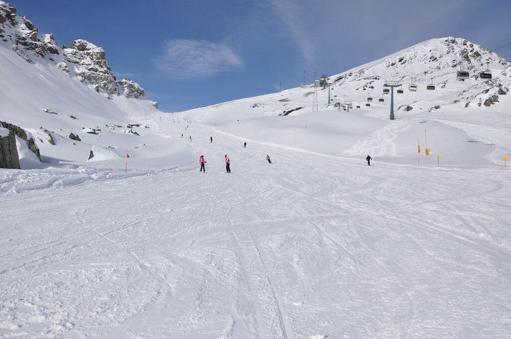 Зимний спорт возле Комо