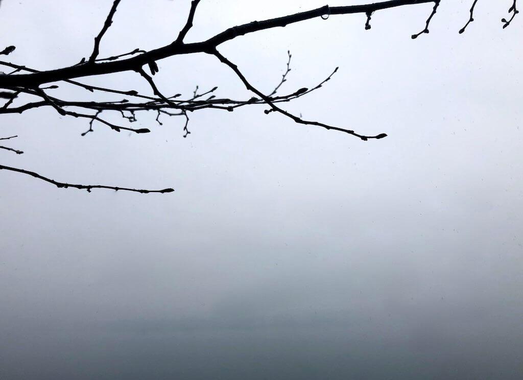 озеро Комо зимой