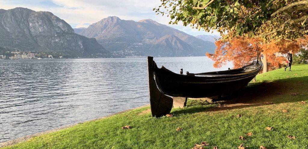 Озеро Комо в ноябре