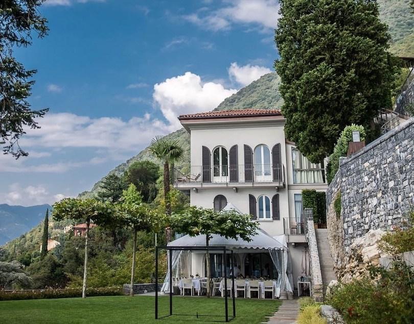 Villa Lario garden